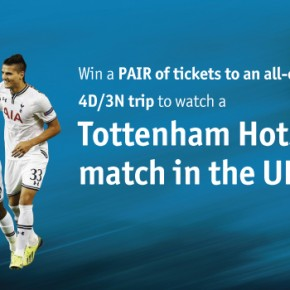 Win a trip to White Hart Lane with AIA!