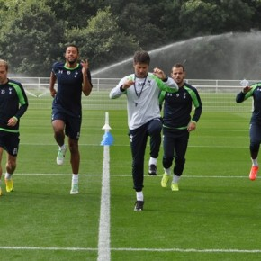 TRAIN WITH TOTTENHAM HOTSPUR