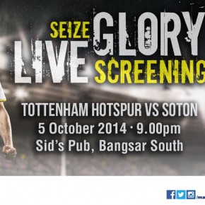 Live Screening - Spurs vs Southampton