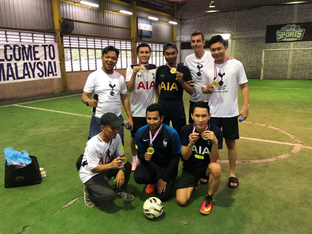MySpurs Day 3 Futsal Champion - Team Clive Allen