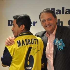 In Pictures : Dinner with Gary Mabbutt MBE