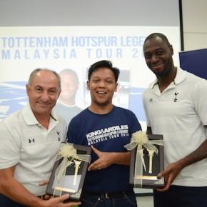 Tottenham Hotspur Legends' Malaysia Tour 2014