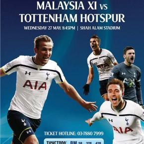 Malaysia XI vs Tottenham Hotspur