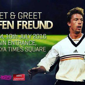 Meet & Greet with Steffen Freund