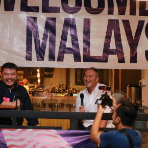 Welcome to Malaysia, Robbo!