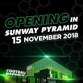 Football Republic in Sunway Pyramid