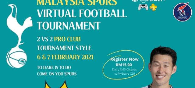 MYSPURS FIFA 21 PRO CLUB 2 VS 2 TOURNAMENT 2021